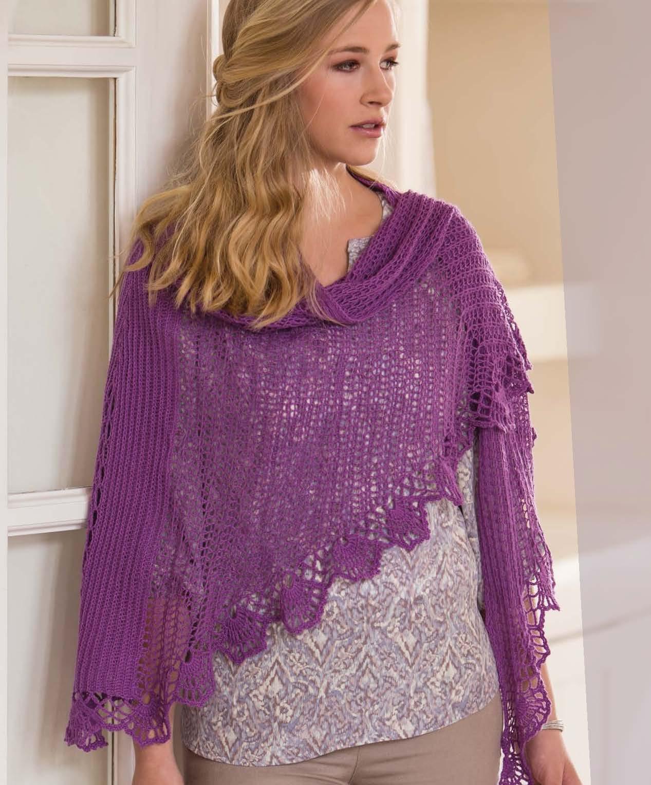 Crochet So Lovely -  Orchid Faroese Shawl beauty shot.jpg