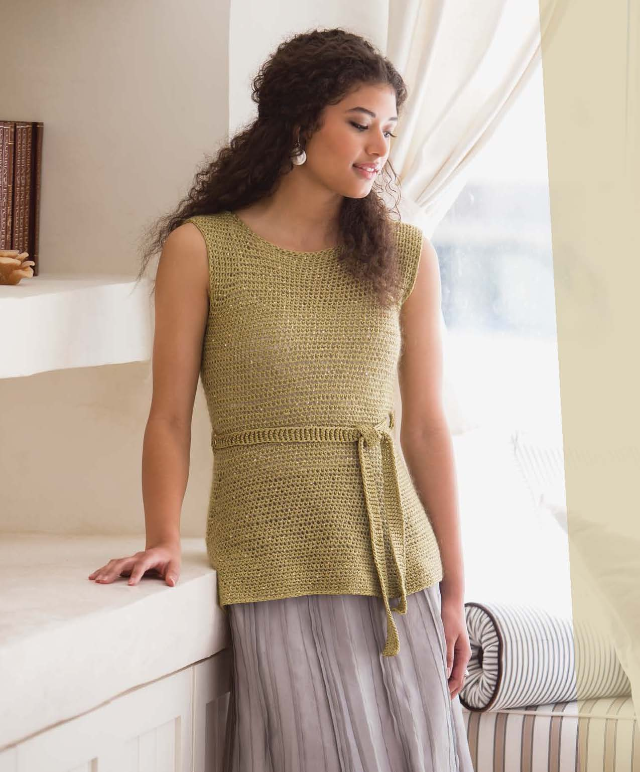 Crochet So Lovely - Simply Sparkly Tunic beauty shot.jpg