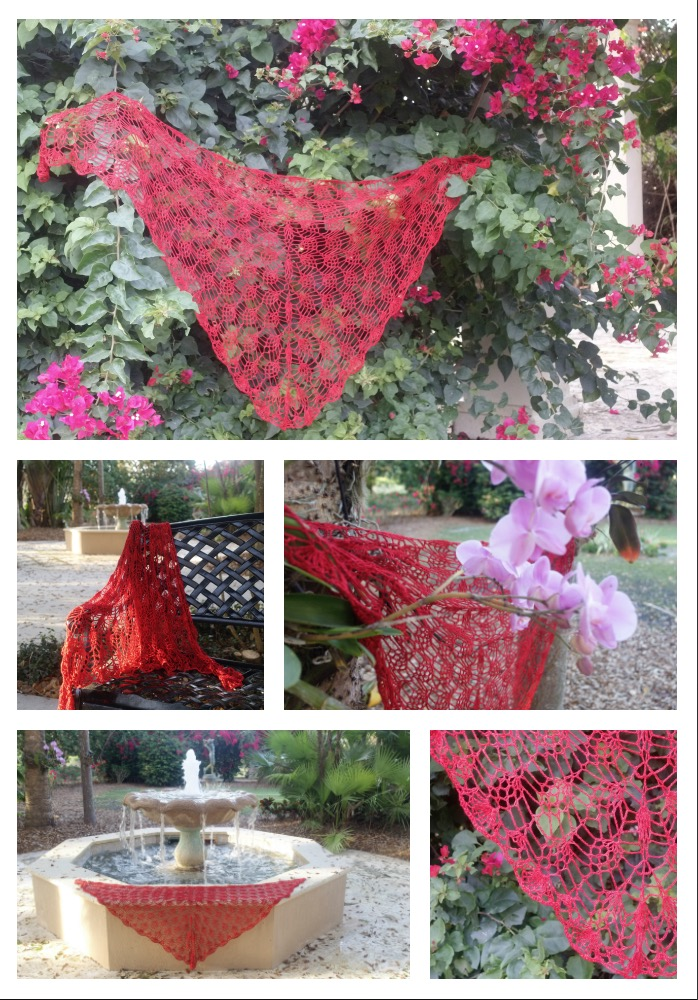 Click here for Be So Fine Yarn Lilaberry Crochet Shawl FREE Pattern