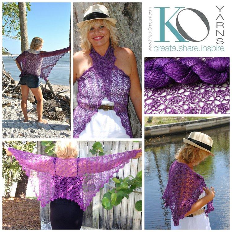 Click here for Islamorada Crochet Shawl Yarn Kit, $30