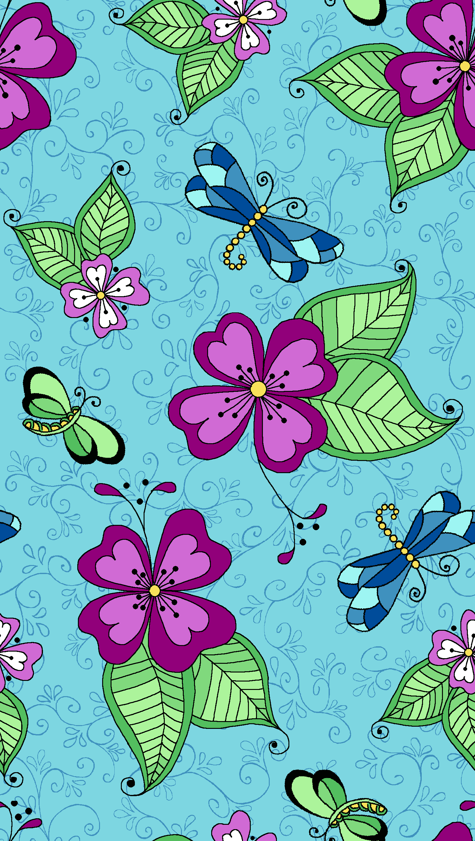 Turquoise Dragonfly.png