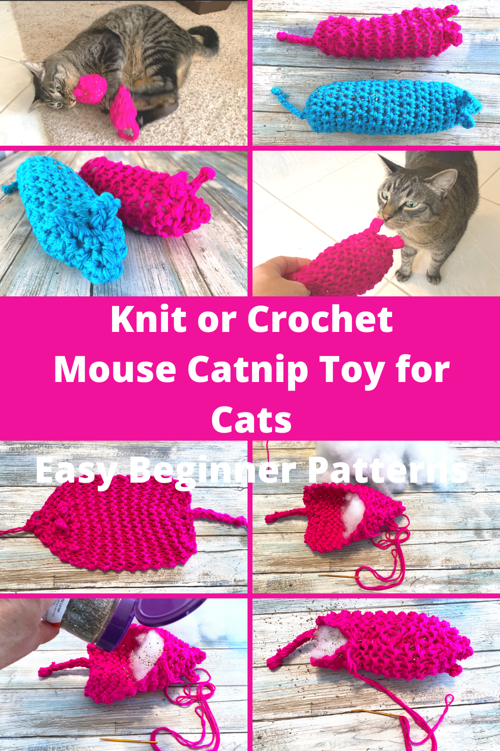 Toy Mouse for Cats Free Amigurumi Pattern | Crochet toys patterns ... | 1500x1000