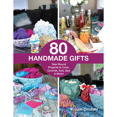 Gifts from the heart truly mean the most. This collection of projects was curated with usefulness in mind: a gift that can be used regularly is the gift that keeps on giving. Choose a quick and easy project from a wide variety of disciplines including: knitting, crochet, sewing, paper crafts, cooking and more. You are sure to find the perfect gift!