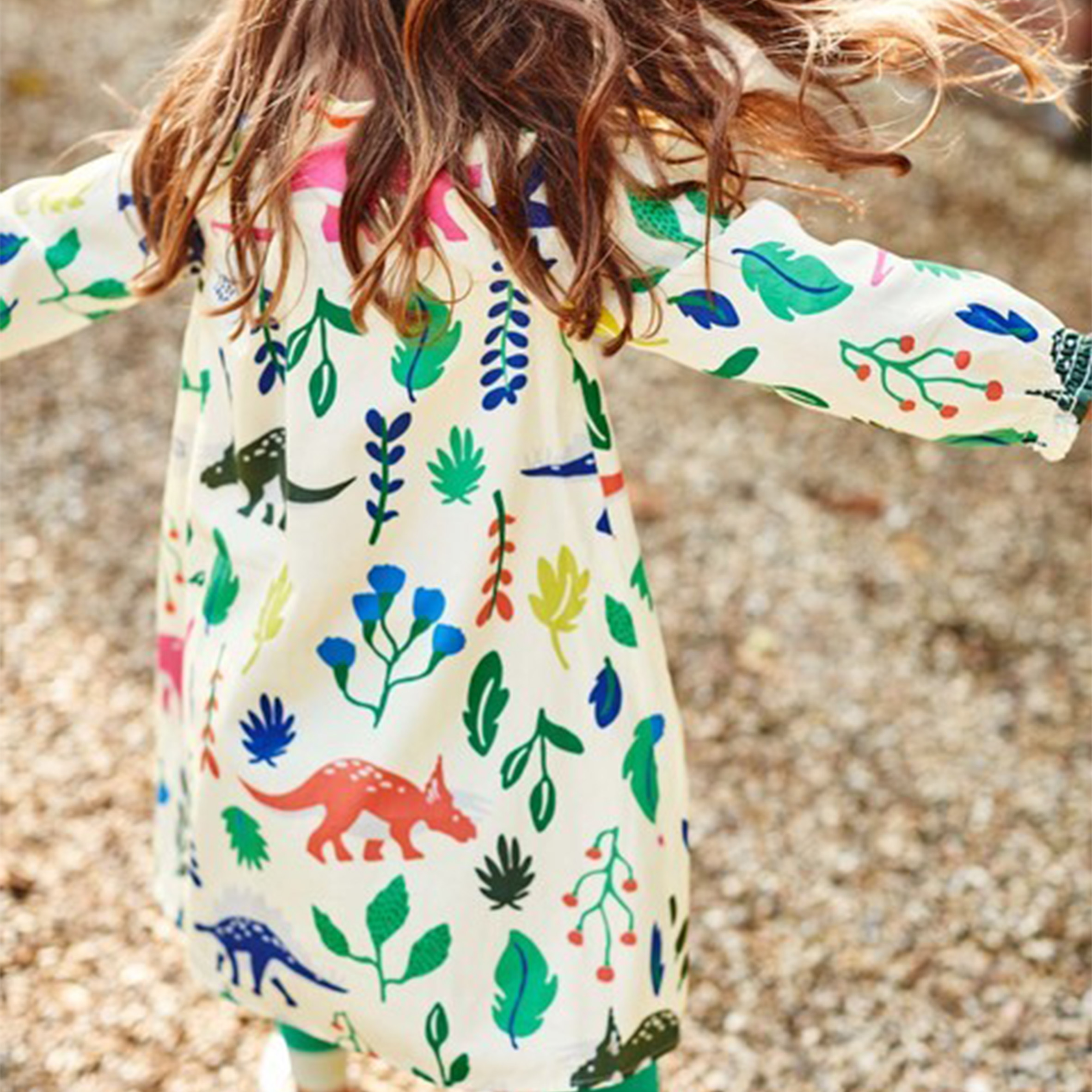 Image: Mini Boden, Florasaurus Dress
