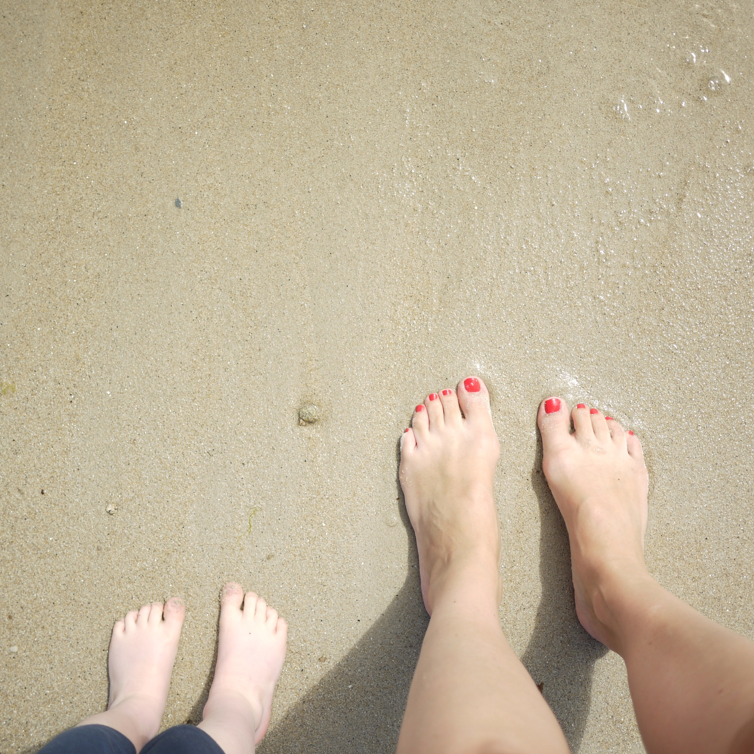 The best toes are sandy toes