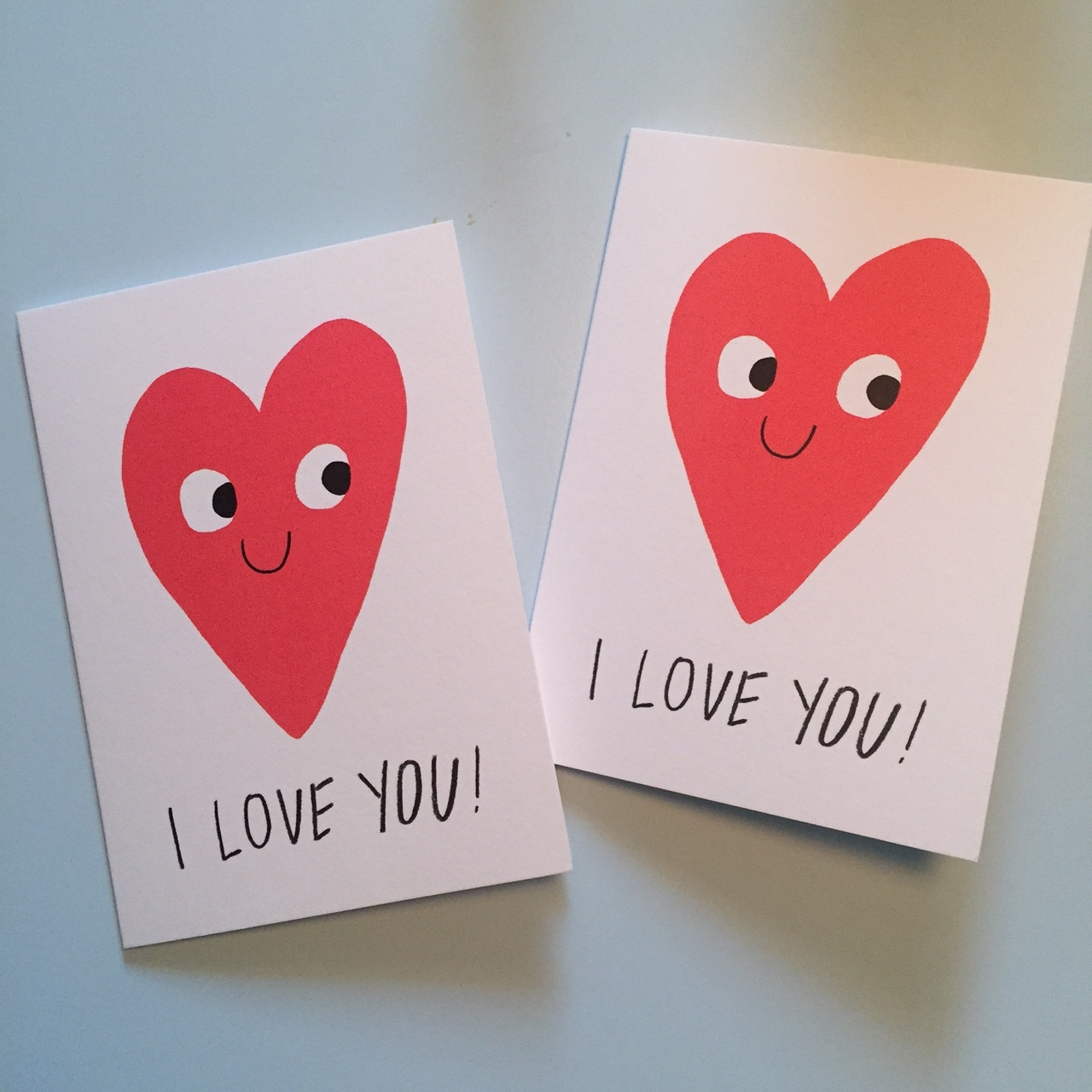 Who said romance is dead? Our matching Valentines card this year ;)