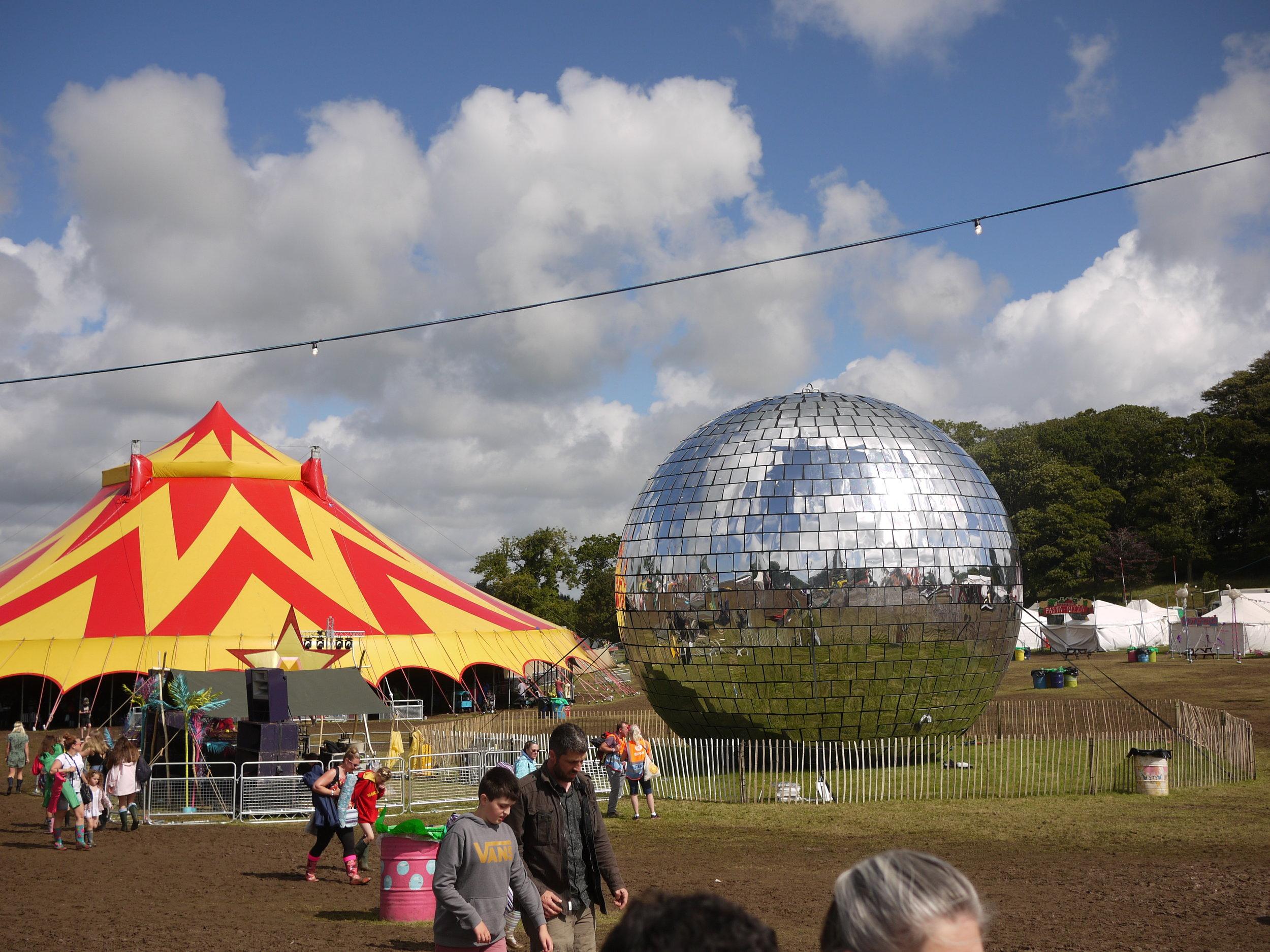 Worlds biggest disco ball!