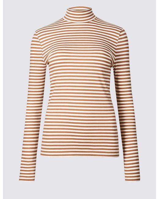 marks-spencer-Light-Tan-Mix-Cotton-Rich-Striped-Long-Sleeve-T-shirt.jpeg
