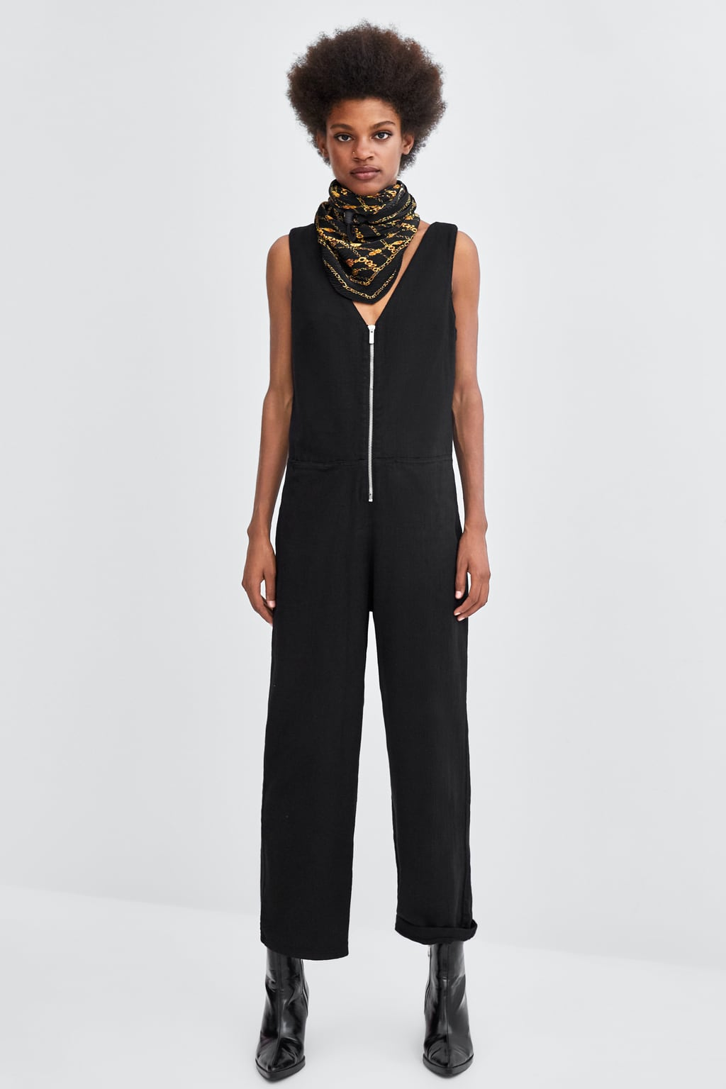 Zara Jumpsuit £29.99   Style with a tee or rollneck underneath
