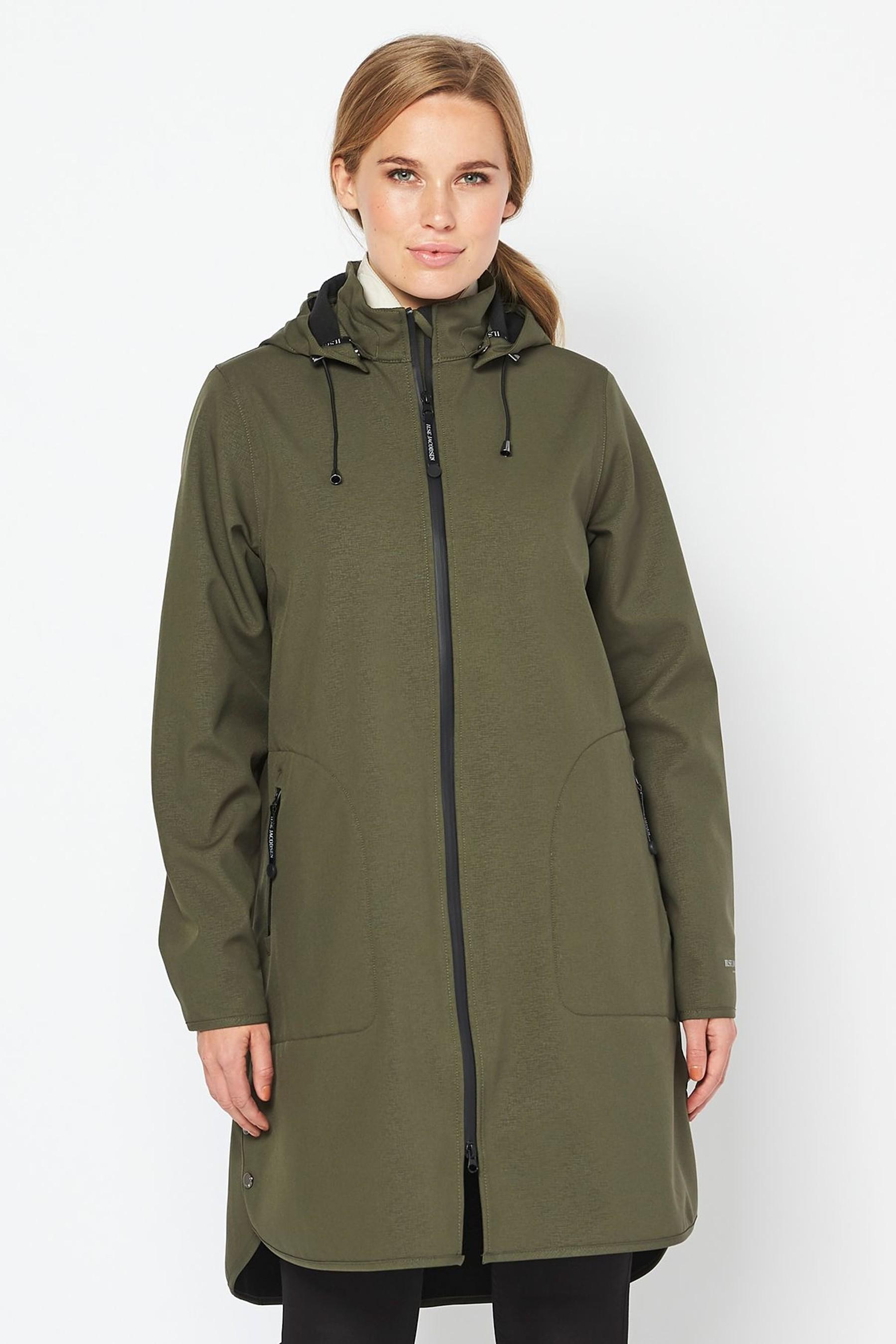 Green Raincoat   by Ilse Jacobsen £225