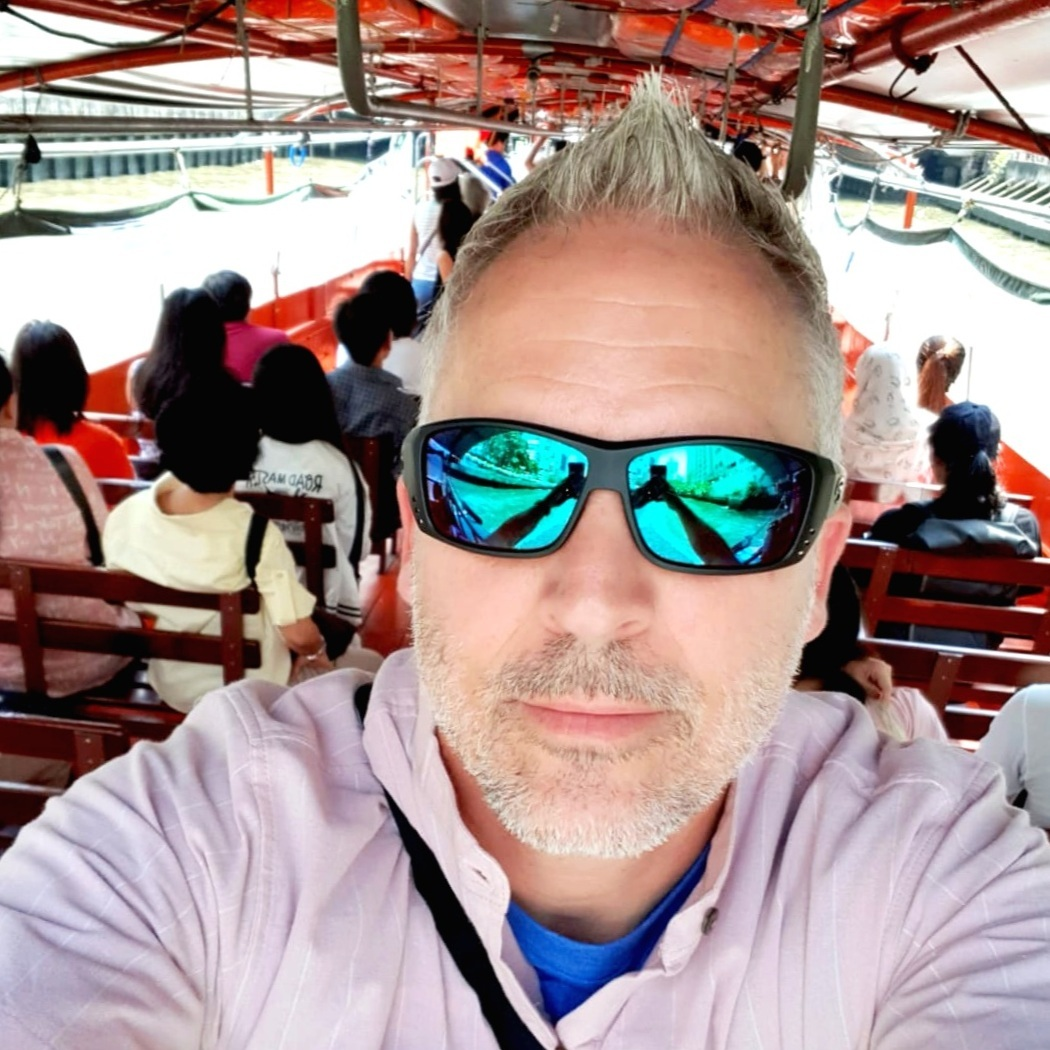 Boat Taxi- The water canals of Bangkok, Thailand