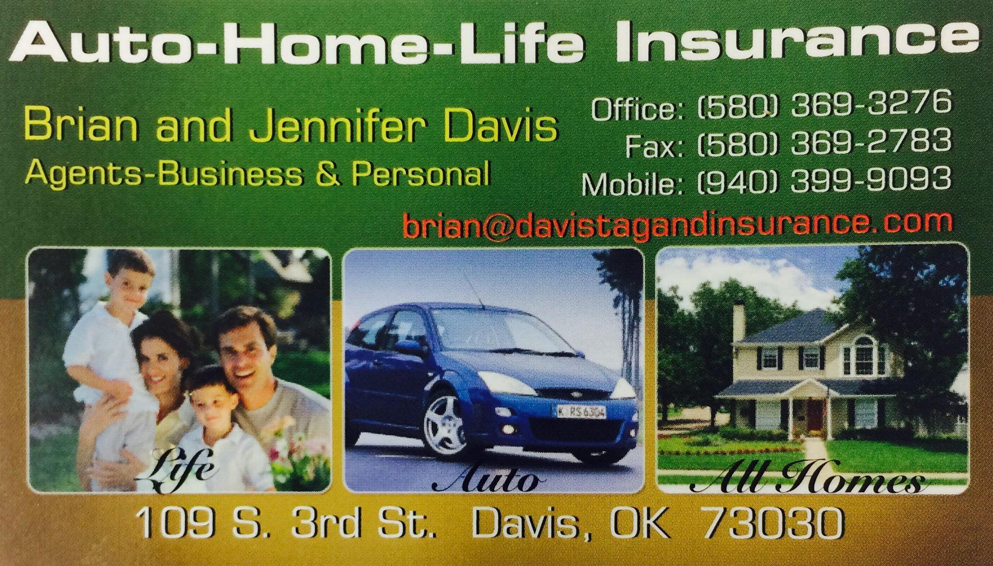 Davis Tag & Insurance - Brian & Jennifer Davis