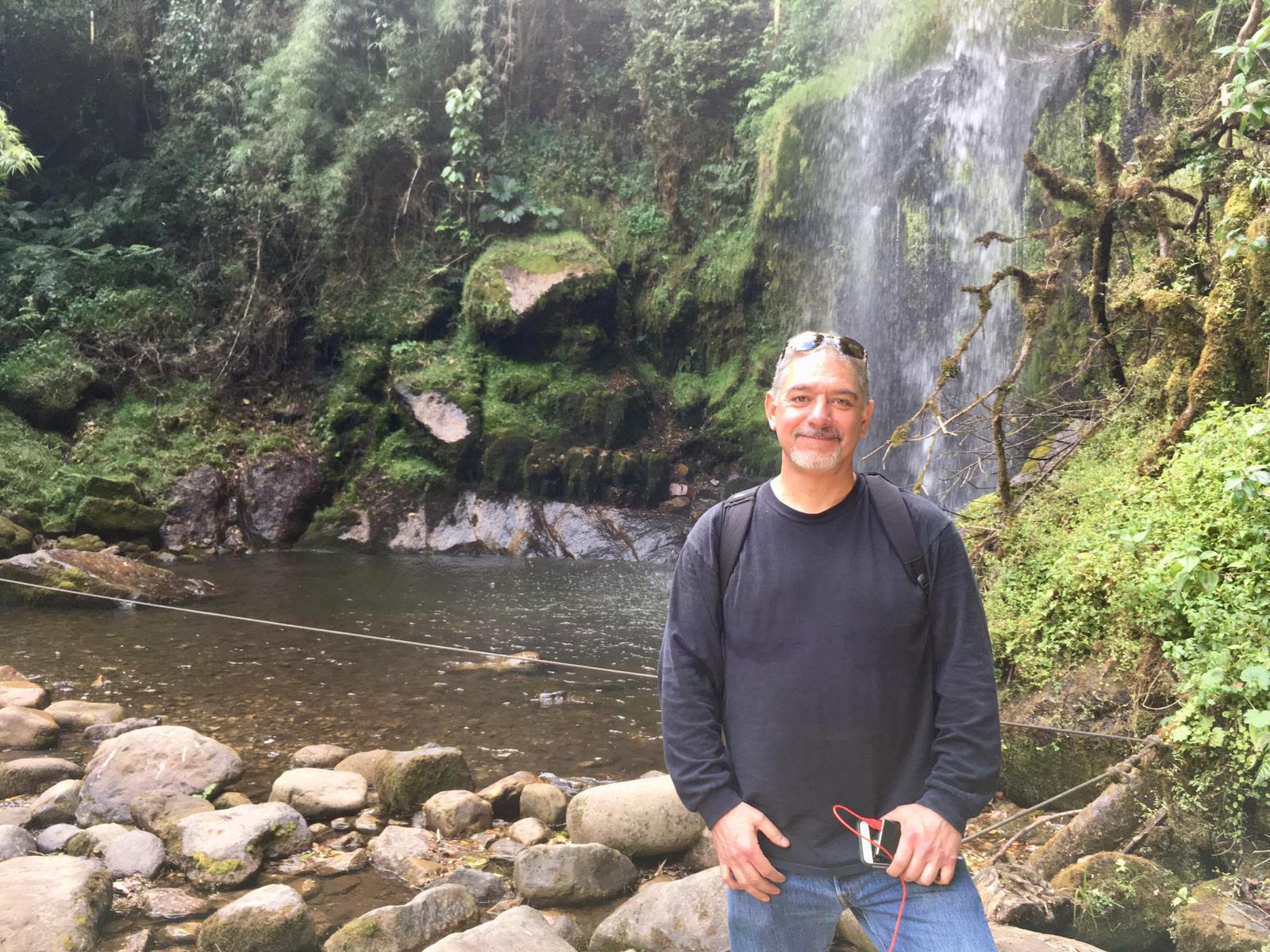 Los Angeles Music Festival® founder Floyd Vasquez in Colombia for the holidays.