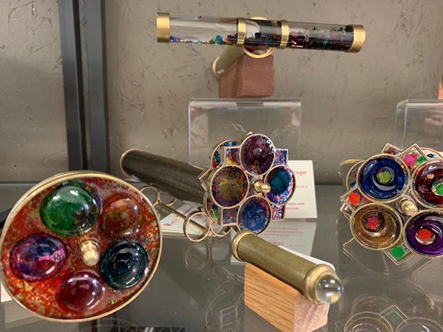 New to the Galleria. Beautiful kaleidoscopes.  Perfect for Valentine's. #shopgalleriariverside #shoplocal