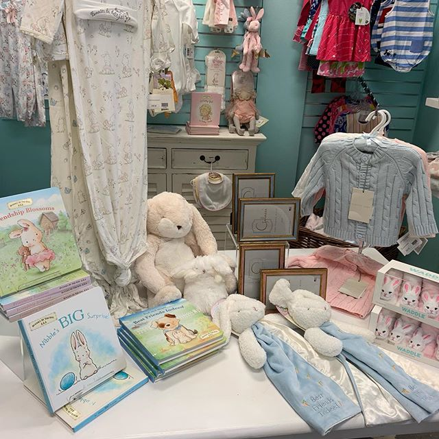Come in and see our new expanded offerings for baby. Need a gift or an adorable outfit for your little one, then we are your place.  Free gift wrapping and local delivery.  We can also ship.  #shopgalleriariverside #shoplocal