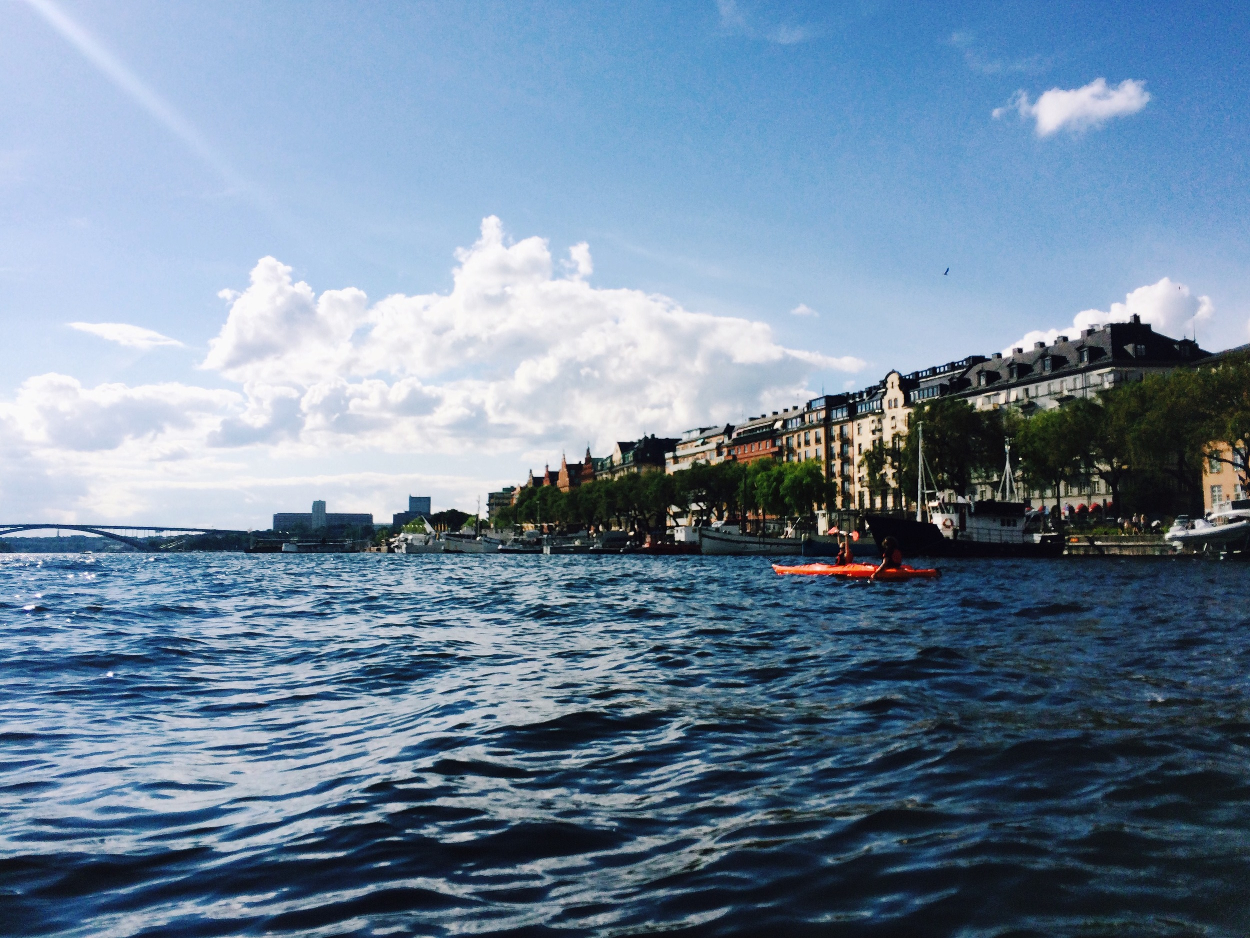 Kungsholmen by kayak