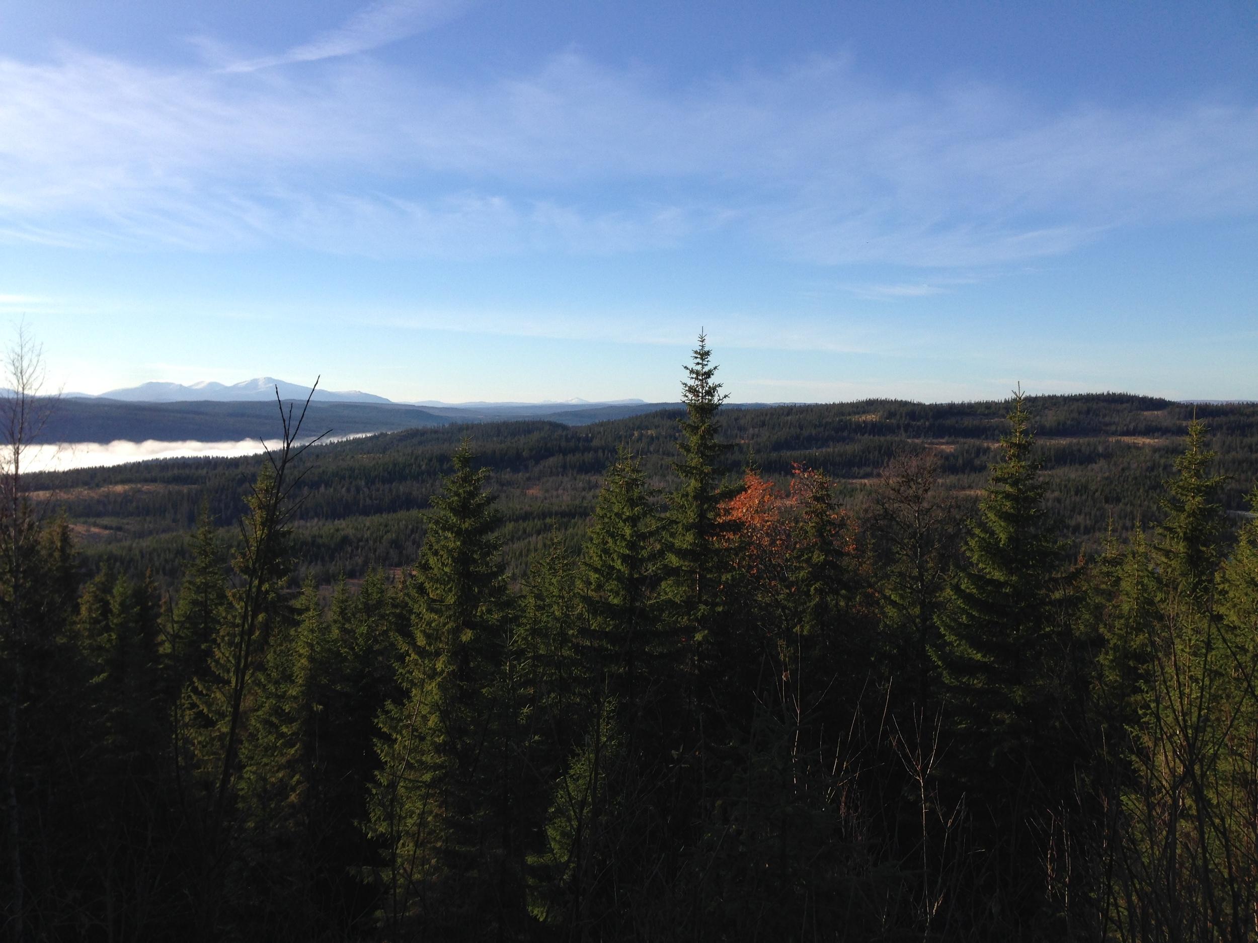 Hey Norway, Sweden has mountains too!