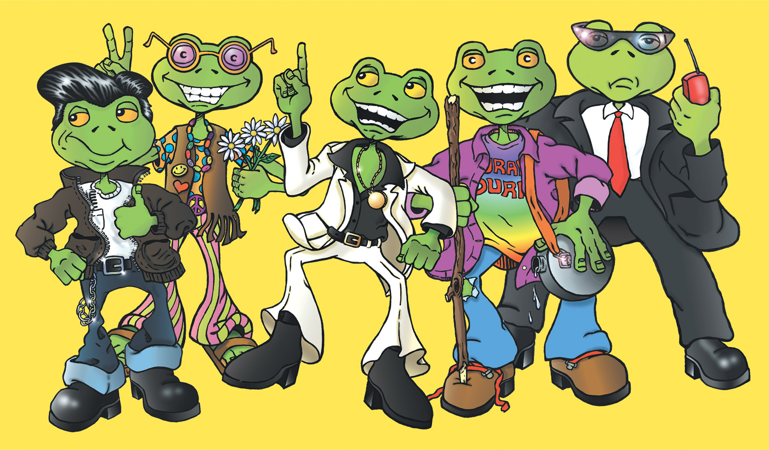 Flashback Frogs