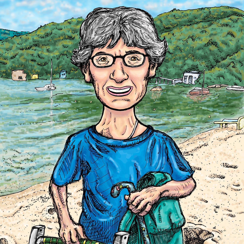 Nana at the Lake