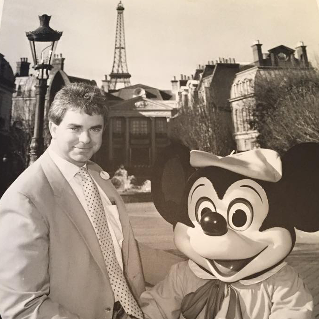 Rich: TBT to when I was the Director of Entertainment for Disneyland Paris.