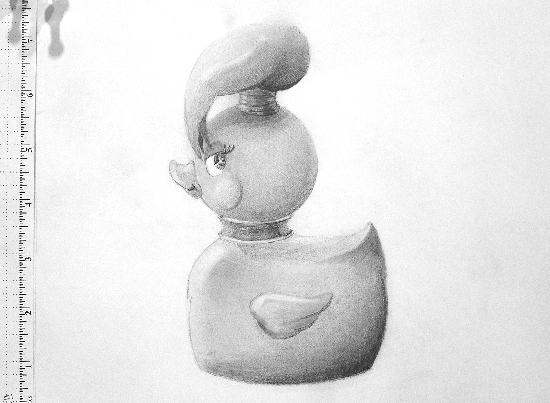 Initial Samo sketch by artist Douglas Shaw Elder