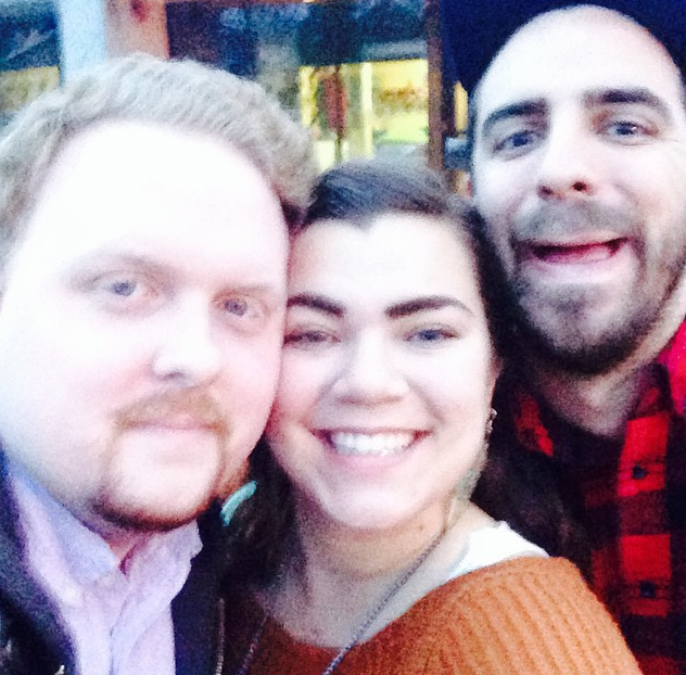Great times in Nashville with our best friend, Daniel Akridge