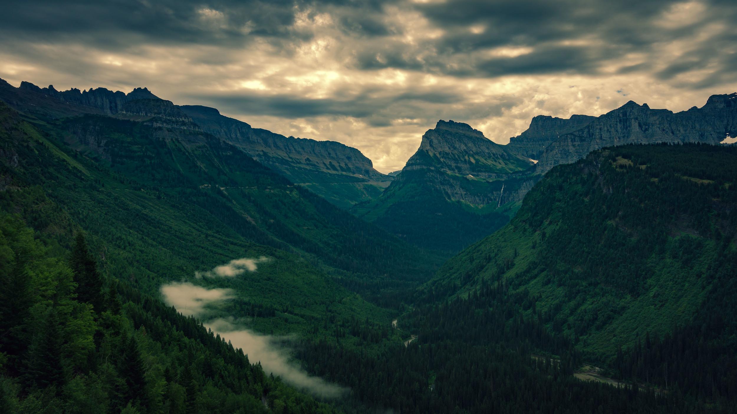 #hiking #clouds #mountains #sky #glacier #nationalpark #montana #usa #glaciernps