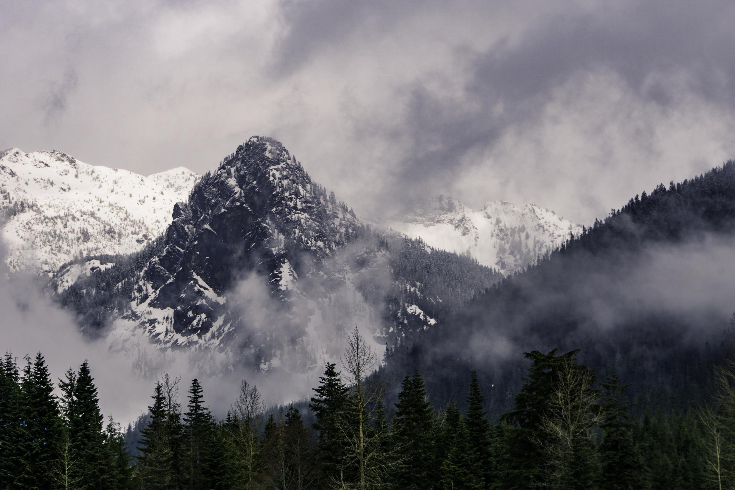 #pnw #mountains #snow