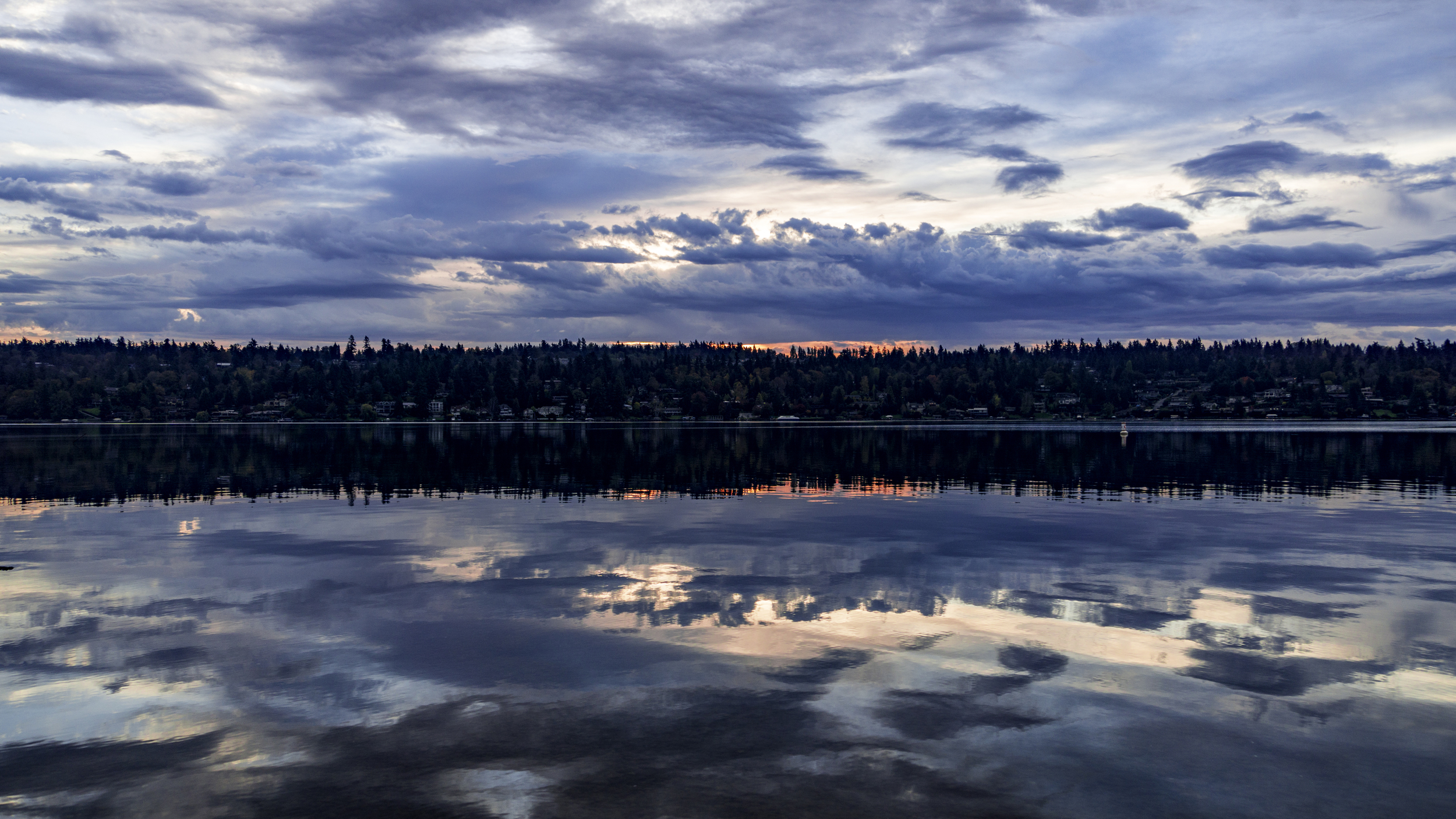 #lake #washington #sunrise #reflection