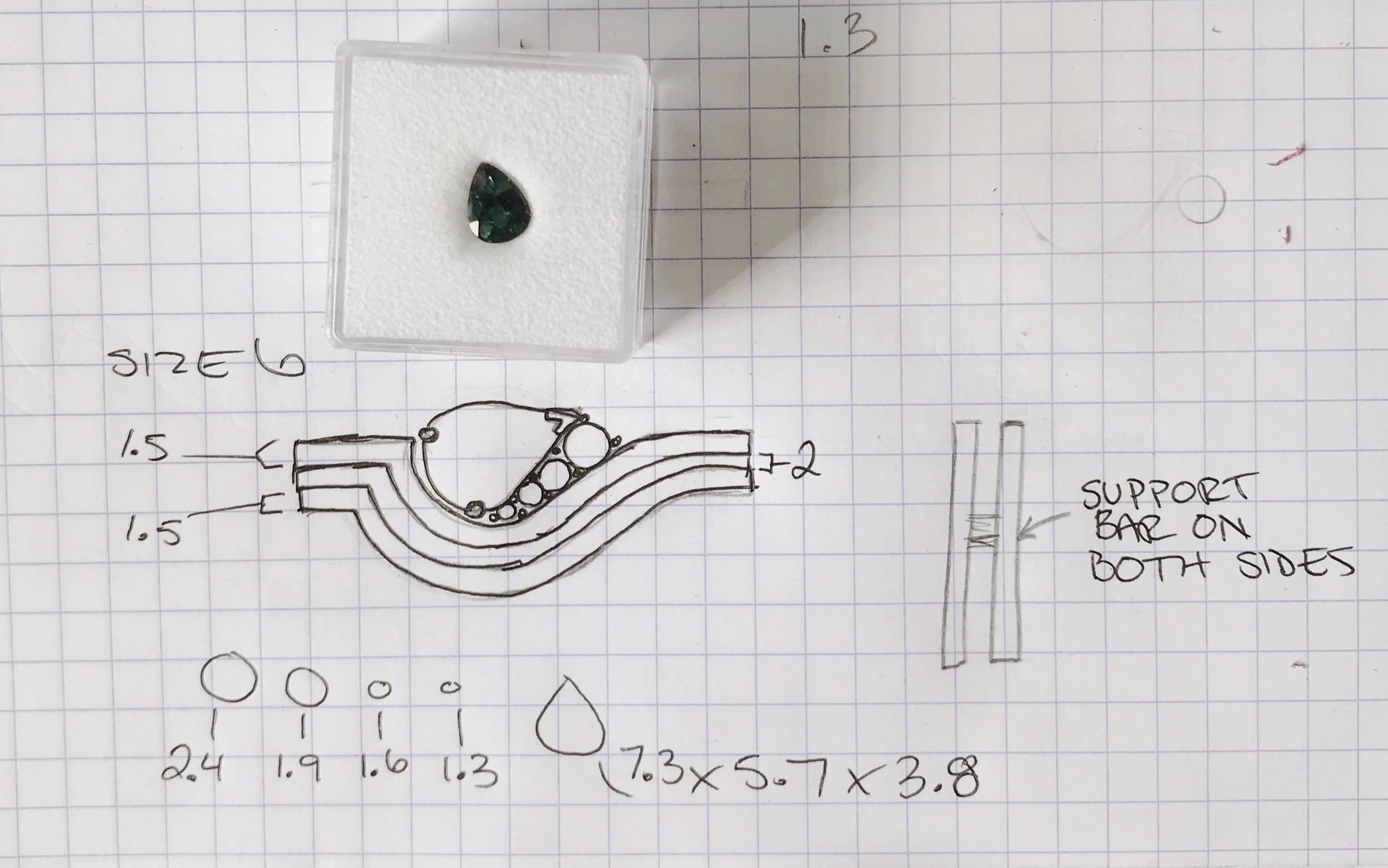 precise sketches -