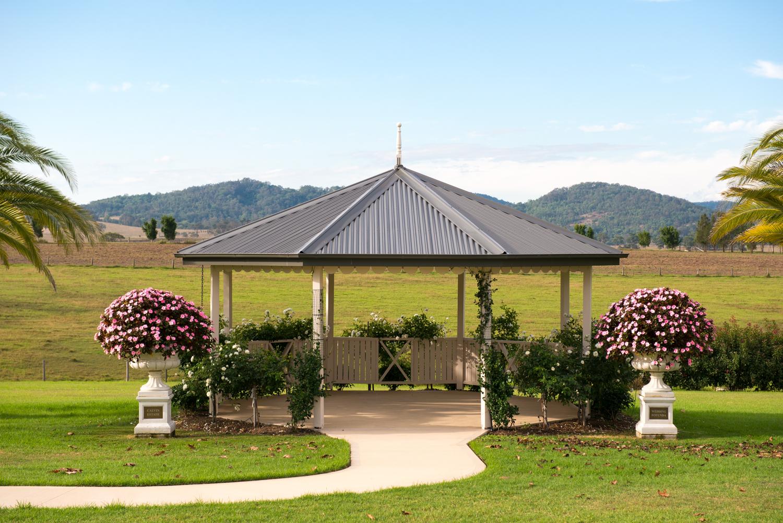 Colonial Rotunda at Calvin Estate