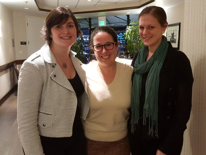 With long-time client (and friend) Sandra Fluke and CA political consultant Lindsay Bubar