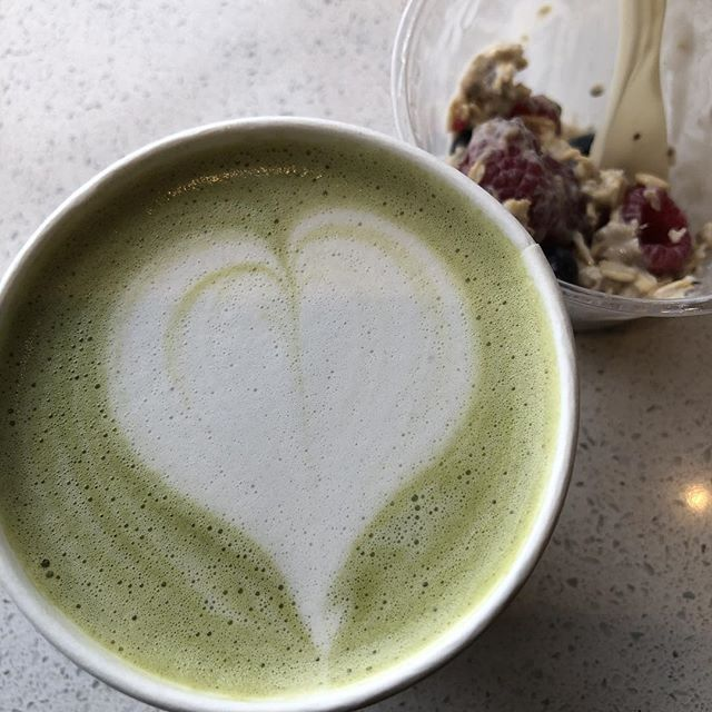 Equator rocking my morning with a lovely matcha latte :) #itsgoingtobeagoodday