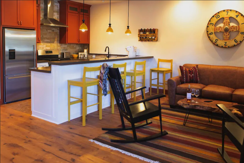 Photo from Airbnb, Los Alamos Mercantile