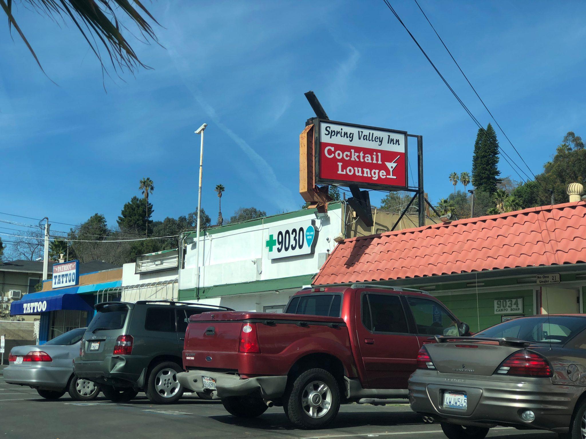 An illegal marijuana dispensary near the border of Spring Valley and Casa de Oro. / Photo by Kinsee Morlan