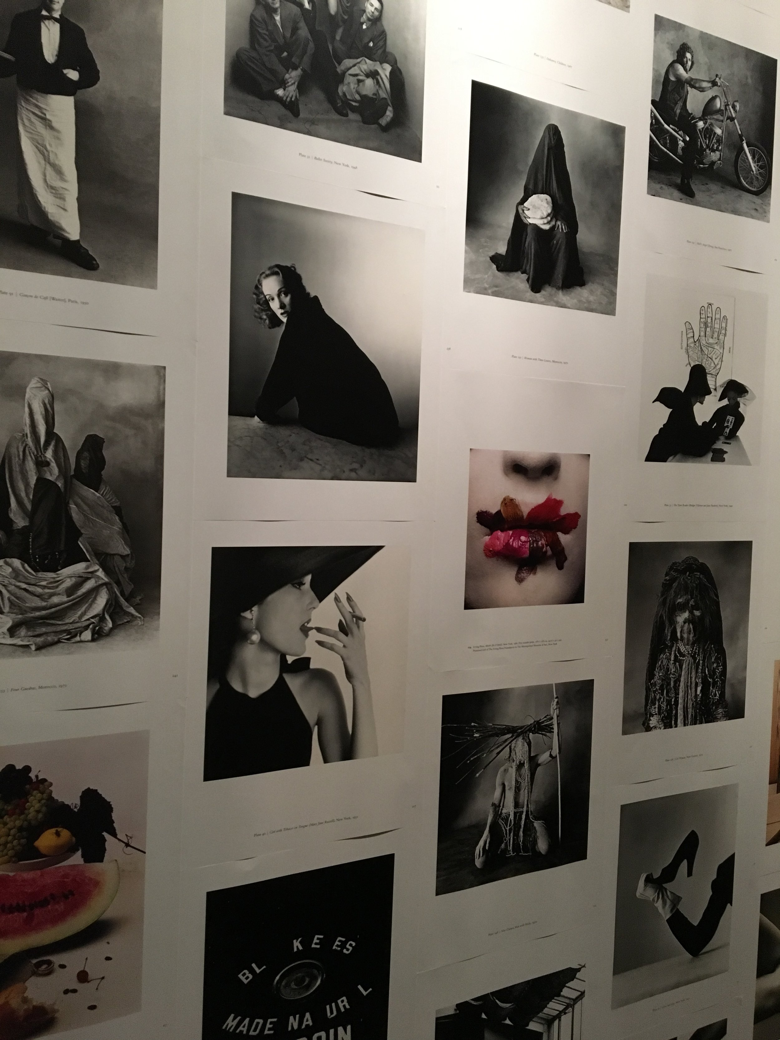 Who is Irving Penn? - Every moment of inspiration has been better than the last. While in New York, I had the opportunity to visit The Met. My main goal was to visit The Art of the In Between but I noticed there was an exhibition of photographs by Irving Penn.