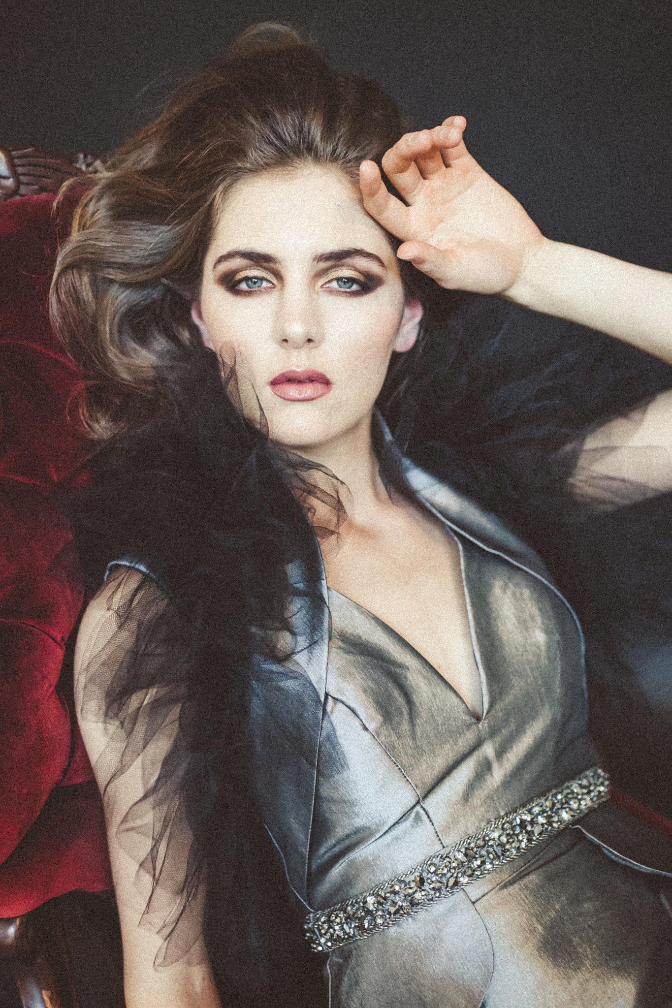 Photography:   Connie Marina | Makeup: Emily Juarez | Style: Icon Stylist | Model: Salt Model & Talent | Fashion: Badgley Mischka, Mac Duggal, Bel Fiore Bridal
