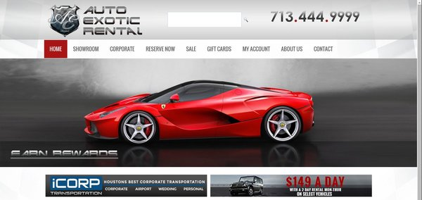 Auto Exotic Rental case study - los angeles seo company
