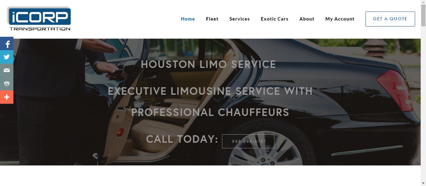 iCorp transportation - Limo Services case study