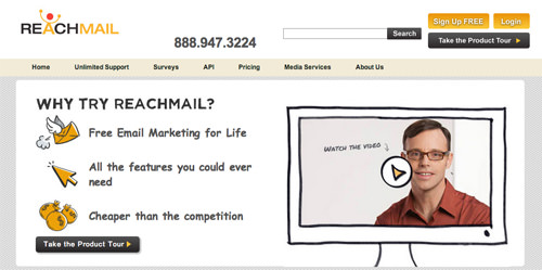 Reachmail email tool