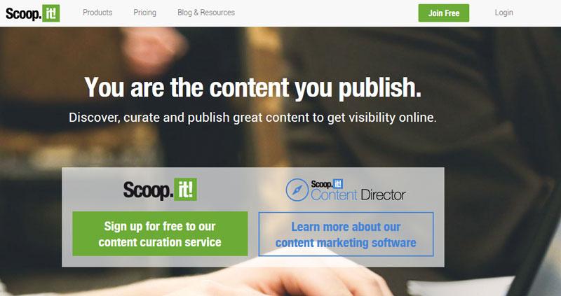 scoop.it marketing tool