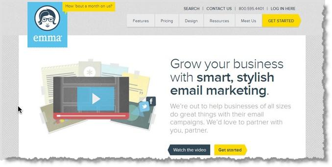 emma email marketing tool