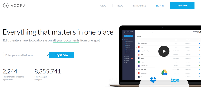 agora - Everything that matters in one place