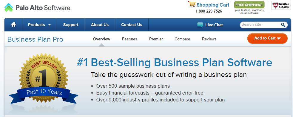 http://www.paloalto.com/business_plan_software