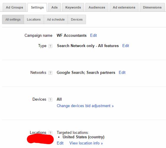 target location-adwords-backlinkfy