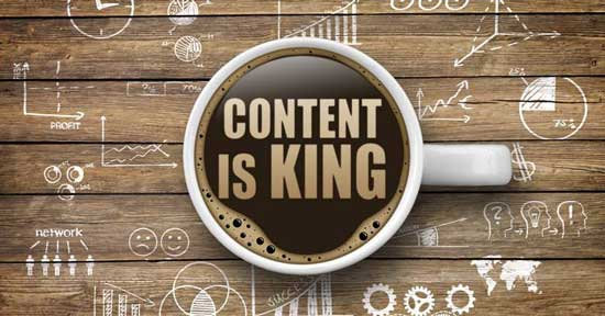 digital marketing content is king