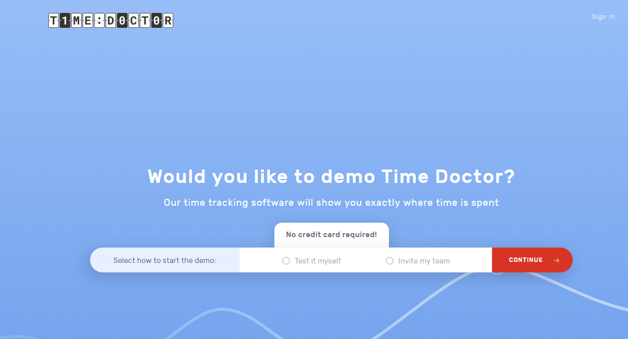 time Doctor software