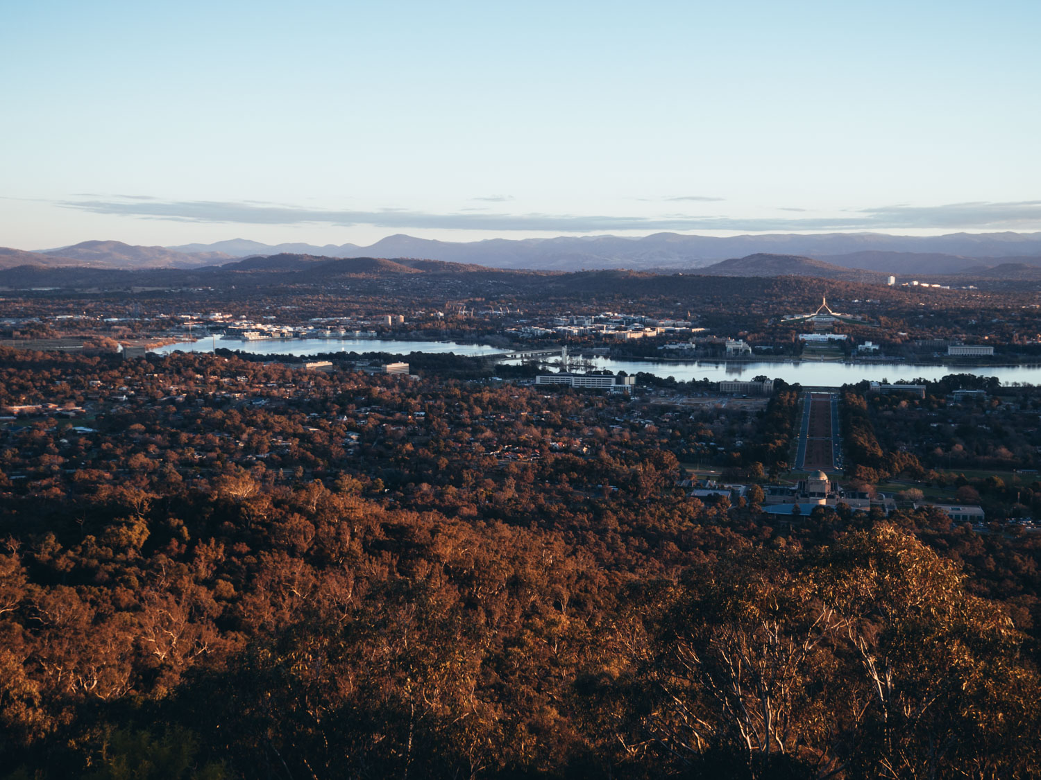 Mount Ainslie Lookout, Canberra ACT