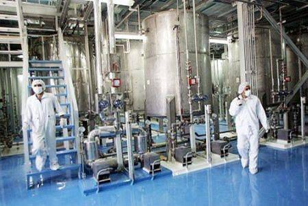 Inside the Isfahan, Iran Uranium Conversion Facility. Image Source: FARS News Agency.