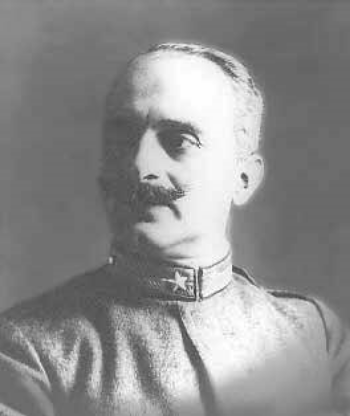 Italian General Giolio Douhet. The man who invented the doctrine T.R. Fehrernbach loved to hate.